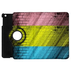 Brickwall Apple Ipad Mini Flip 360 Case by Nexatart