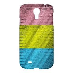 Brickwall Samsung Galaxy S4 I9500/i9505 Hardshell Case by Nexatart