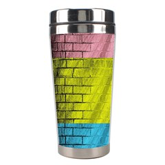 Brickwall Stainless Steel Travel Tumblers by Nexatart