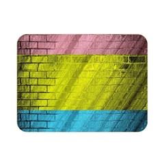 Brickwall Double Sided Flano Blanket (mini)