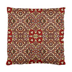 Seamless Pattern Based On Turkish Carpet Pattern Standard Cushion Case (two Sides)