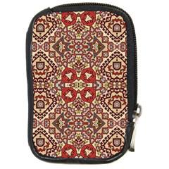 Seamless Pattern Based On Turkish Carpet Pattern Compact Camera Cases by Nexatart