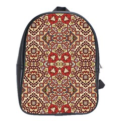 Seamless Pattern Based On Turkish Carpet Pattern School Bags(large)