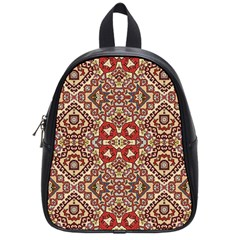 Seamless Pattern Based On Turkish Carpet Pattern School Bags (small)  by Nexatart