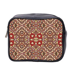 Seamless Pattern Based On Turkish Carpet Pattern Mini Toiletries Bag 2 Side by Nexatart