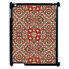 Seamless Pattern Based On Turkish Carpet Pattern Apple Ipad 2 Case (black) by Nexatart