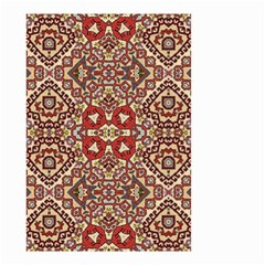 Seamless Pattern Based On Turkish Carpet Pattern Small Garden Flag (two Sides) by Nexatart