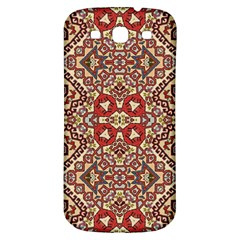 Seamless Pattern Based On Turkish Carpet Pattern Samsung Galaxy S3 S Iii Classic Hardshell Back Case by Nexatart