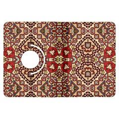 Seamless Pattern Based On Turkish Carpet Pattern Kindle Fire Hdx Flip 360 Case