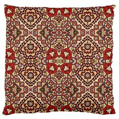 Seamless Pattern Based On Turkish Carpet Pattern Standard Flano Cushion Case (one Side) by Nexatart