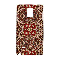 Seamless Pattern Based On Turkish Carpet Pattern Samsung Galaxy Note 4 Hardshell Case by Nexatart