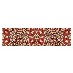 Seamless Pattern Based On Turkish Carpet Pattern Satin Scarf (oblong)
