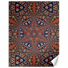 Armenian Carpet In Kaleidoscope Canvas 12  X 16