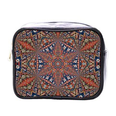 Armenian Carpet In Kaleidoscope Mini Toiletries Bags