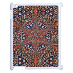 Armenian Carpet In Kaleidoscope Apple Ipad 2 Case (white)