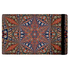 Armenian Carpet In Kaleidoscope Apple Ipad 3/4 Flip Case