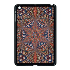 Armenian Carpet In Kaleidoscope Apple Ipad Mini Case (black) by Nexatart