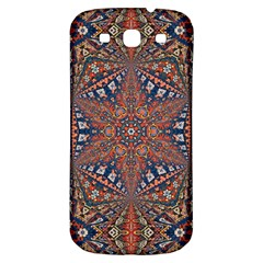 Armenian Carpet In Kaleidoscope Samsung Galaxy S3 S Iii Classic Hardshell Back Case by Nexatart