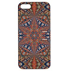 Armenian Carpet In Kaleidoscope Apple Iphone 5 Hardshell Case With Stand by Nexatart