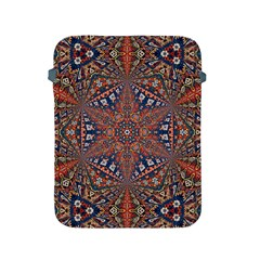 Armenian Carpet In Kaleidoscope Apple Ipad 2/3/4 Protective Soft Cases
