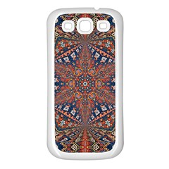 Armenian Carpet In Kaleidoscope Samsung Galaxy S3 Back Case (white)