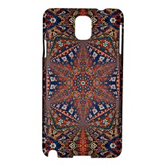 Armenian Carpet In Kaleidoscope Samsung Galaxy Note 3 N9005 Hardshell Case by Nexatart
