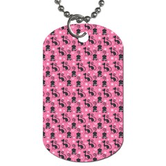 Cute Cats I Dog Tag (one Side)