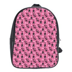Cute Cats I School Bags(large)