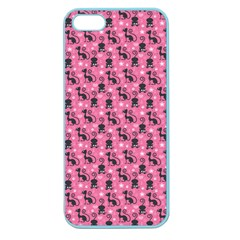 Cute Cats I Apple Seamless Iphone 5 Case (color)