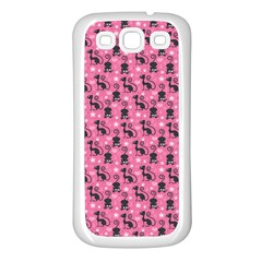 Cute Cats I Samsung Galaxy S3 Back Case (white)