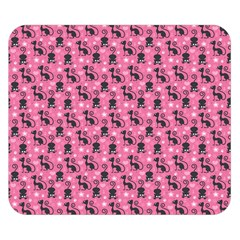 Cute Cats I Double Sided Flano Blanket (small)