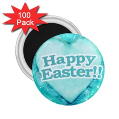 Happy Easter Theme Graphic 2 25  Magnets (100 Pack)  by dflcprints