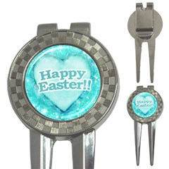 Happy Easter Theme Graphic 3-in-1 Golf Divots