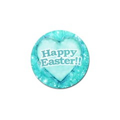 Happy Easter Theme Graphic Golf Ball Marker by dflcprints