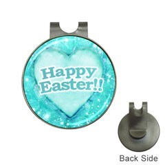 Happy Easter Theme Graphic Hat Clips With Golf Markers by dflcprints
