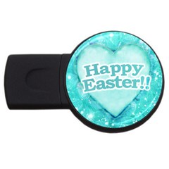 Happy Easter Theme Graphic Usb Flash Drive Round (4 Gb) by dflcprints