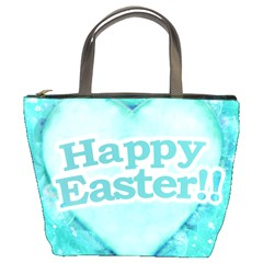 Happy Easter Theme Graphic Bucket Bags by dflcprints