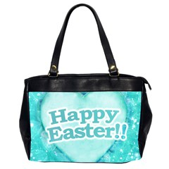 Happy Easter Theme Graphic Office Handbags (2 Sides)  by dflcprints