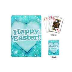 Happy Easter Theme Graphic Playing Cards (mini)  by dflcprints