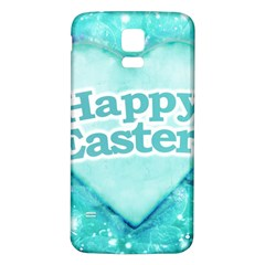 Happy Easter Theme Graphic Samsung Galaxy S5 Back Case (white) by dflcprints