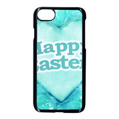 Happy Easter Theme Graphic Apple Iphone 7 Seamless Case (black) by dflcprints