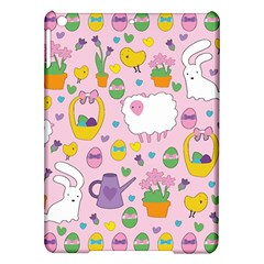 Cute Easter Pattern Ipad Air Hardshell Cases by Valentinaart