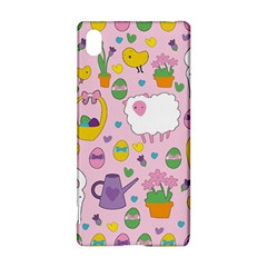Cute Easter Pattern Sony Xperia Z3+ by Valentinaart