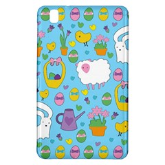 Cute Easter Pattern Samsung Galaxy Tab Pro 8 4 Hardshell Case by Valentinaart