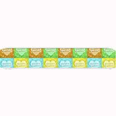 Colorful Happy Easter Theme Pattern Small Bar Mats by dflcprints