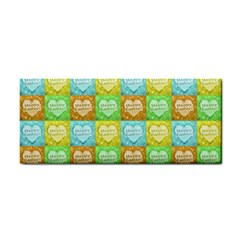 Colorful Happy Easter Theme Pattern Cosmetic Storage Cases by dflcprints