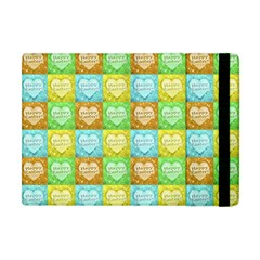 Colorful Happy Easter Theme Pattern Apple Ipad Mini Flip Case by dflcprints
