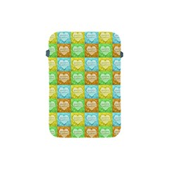 Colorful Happy Easter Theme Pattern Apple Ipad Mini Protective Soft Cases by dflcprints