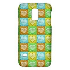 Colorful Happy Easter Theme Pattern Galaxy S5 Mini by dflcprints