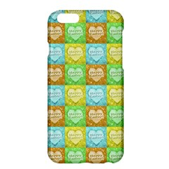 Colorful Happy Easter Theme Pattern Apple Iphone 6 Plus/6s Plus Hardshell Case by dflcprints